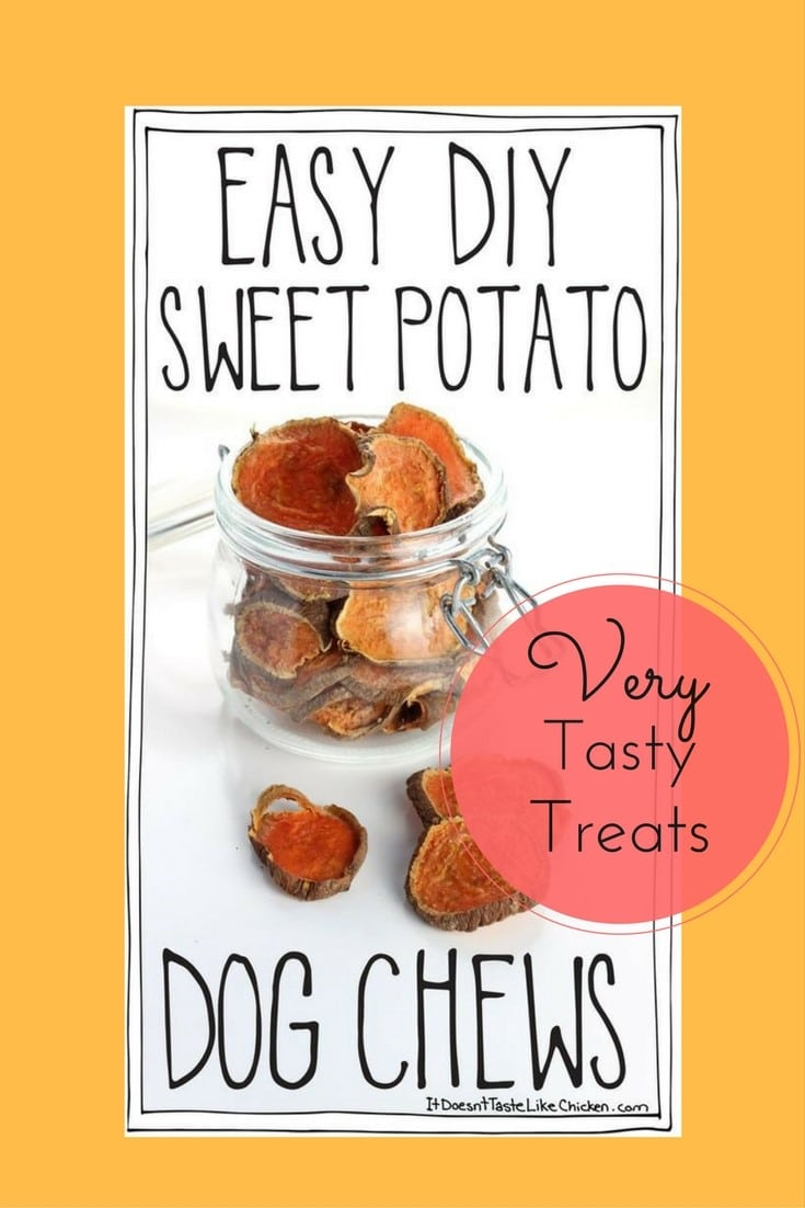 Sweet Potato Treats for Dogs Recipe 6