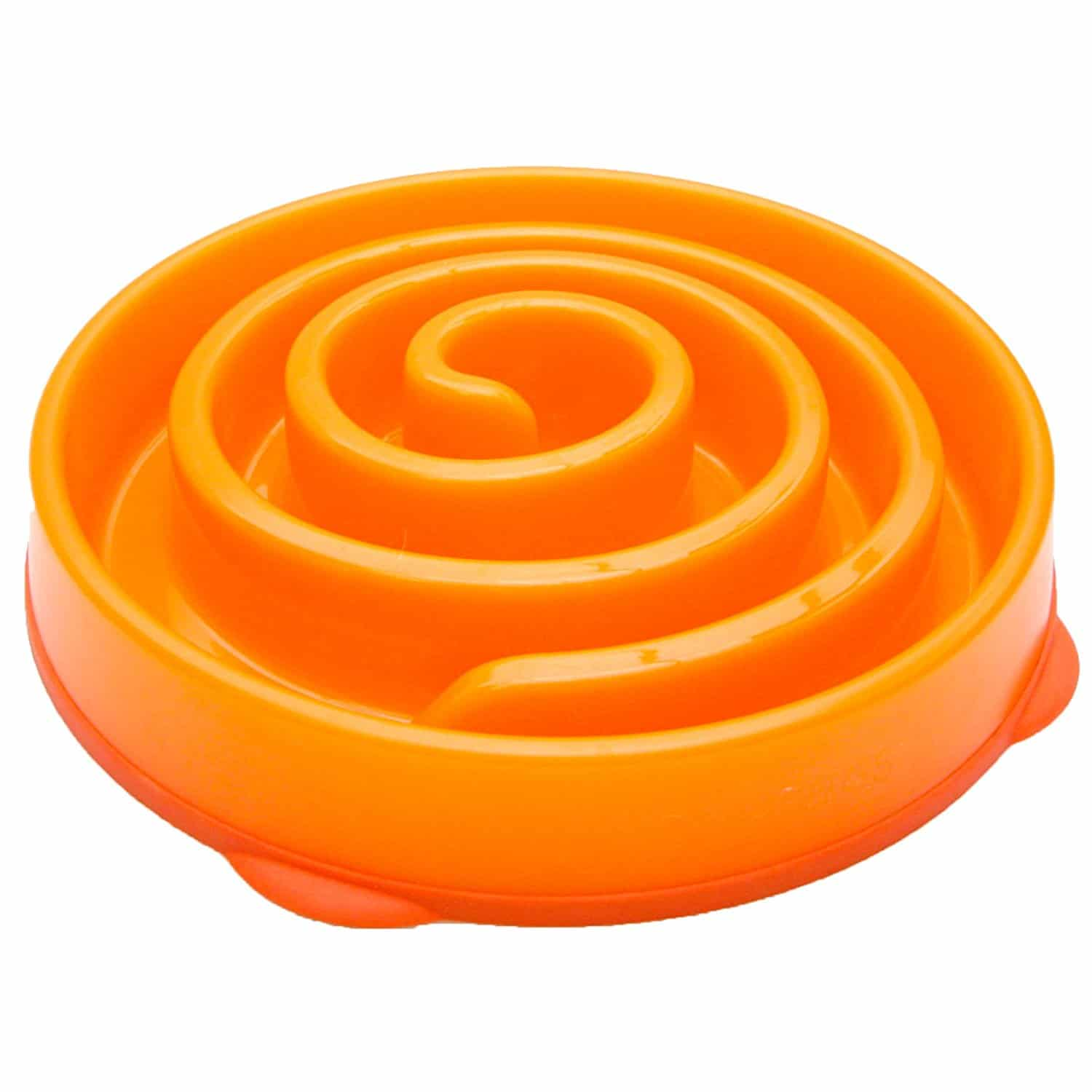 Best Slow Feeder Dog Bowl Spiral