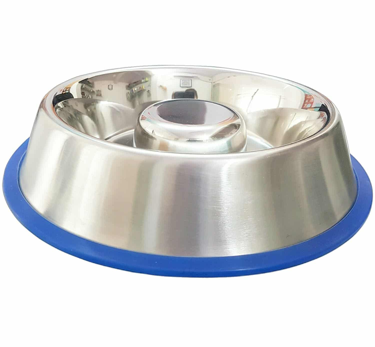 Best Slow Feeder Dog Bowl in stainless