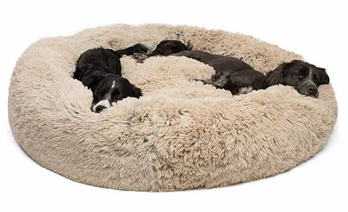 Luxury Dog Beds donut cuddler