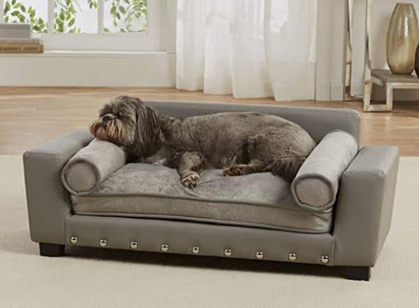 Luxury Dog Beds leather dog sofa
